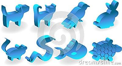 Pet 3D Icons