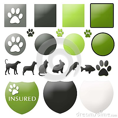 Pet Care Buttons