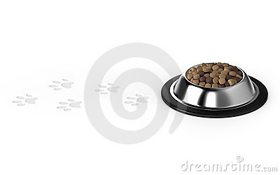 Pet food,Dog food,Animal footprints