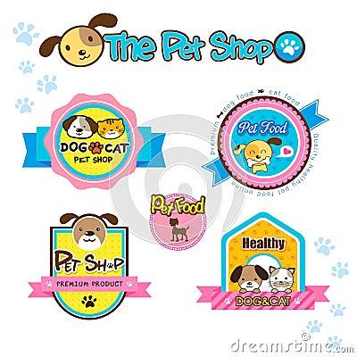 Pet shop labels
