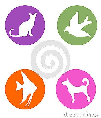 Pet shop logos