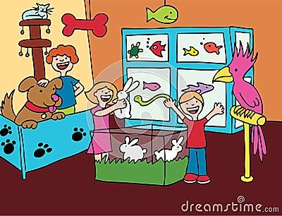 Pet Store VIsit