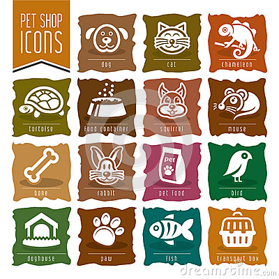 Free Pet, Vet, Pet Shop Icon Set - 2 Royalty Free Stock Photography - 50430767
