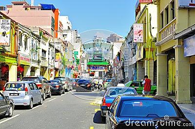 Petaling Street , Malaysia Editorial Stock Photo