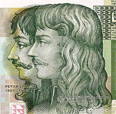 Petar Zrinski and Fran Krsto Frankopan Editorial Image