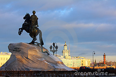 Peter 1 Monument In Saint-petersburg Stock Photo - Image: 22938280