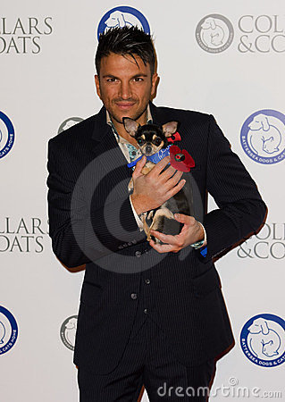 Peter Andre Editorial Image