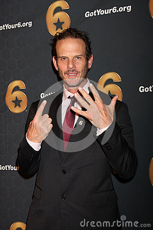 Peter Berg arrives at the Launch of Got Your 6 Editorial Image