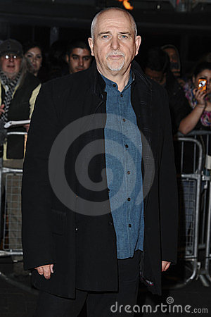 Peter Gabriel, John Carter Editorial Stock Photo