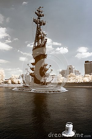Peter the Great in Moscow