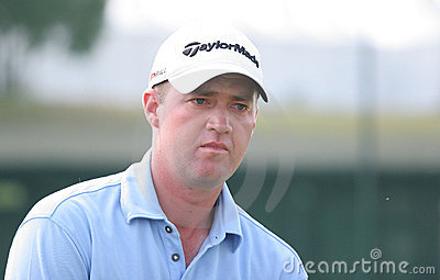Peter Hanson (SWE) Golf French Open 2009 Editorial Stock Photo