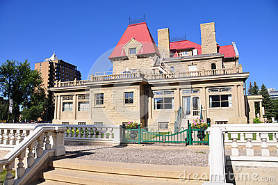 Peter Lougheed House Editorial Stock Photo