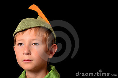 Peter Pan Portrait