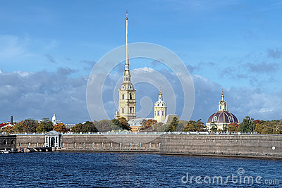 Peter and Paul Cathedral in Saint Petersburg