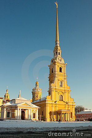 The Peter and Paul Fortress, Russia