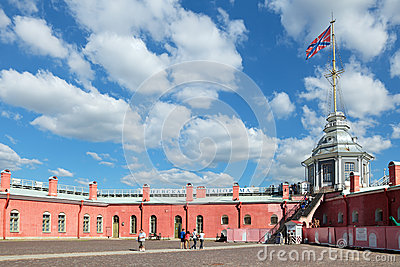 Peter and Paul Fortress Editorial Photo