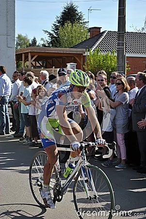 Peter Sagan - París Roubaix 2011 Foto de archivo editorial