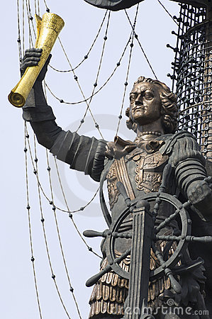 Free Peter The Great Royalty Free Stock Image - 20194506