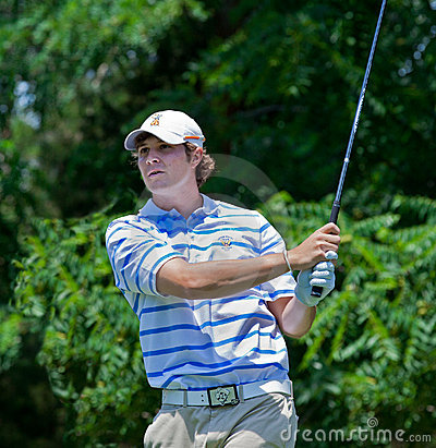 Peter Uihlein at the 2011 U.S. Open Editorial Stock Photo