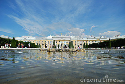 Petergof s palace