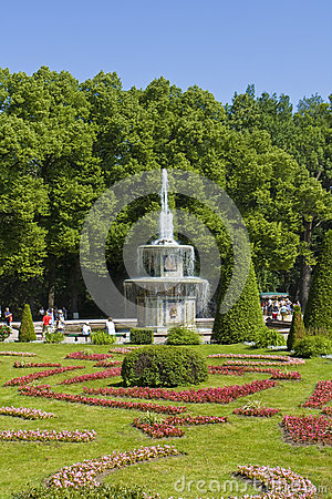 Peterhof, Russia Editorial Photography