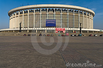 The Petersburg Sports and Concert Complex Editorial Stock Photo