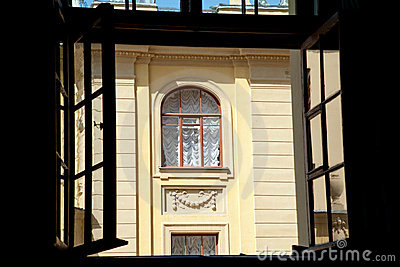 Petersburg Window Royalty Free Stock Image - Image: 20846196