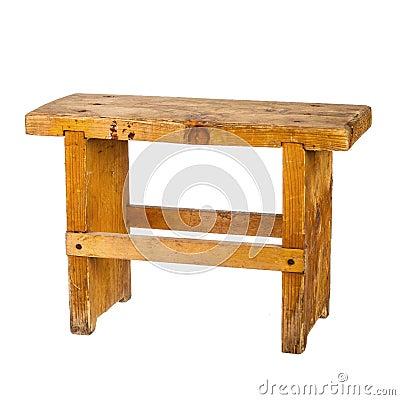 petit banc en bois photo stock image 44423322. Black Bedroom Furniture Sets. Home Design Ideas