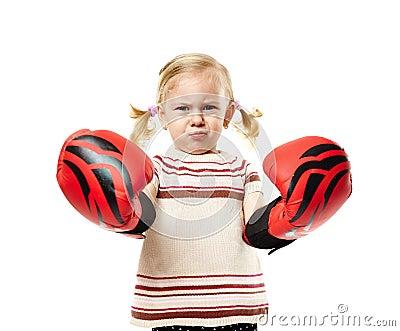 Petit boxeur