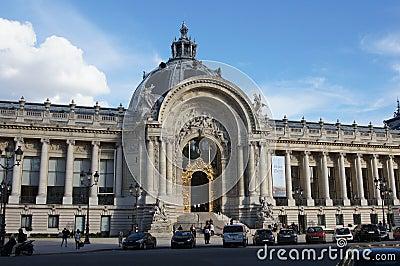 Petit Palais Paris, France Editorial Stock Image