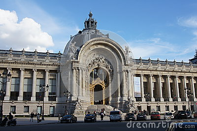 Petit Palais Paris, France Editorial Stock Image