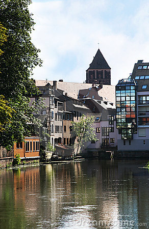 Petite France – Old Town in Strasbourg, Alsace