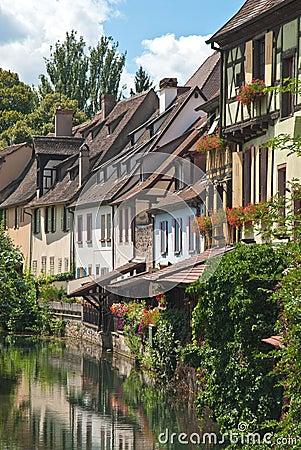 Petite Venice in Colmar, France