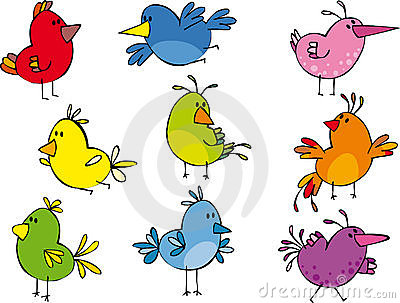 Petites birdies drôles