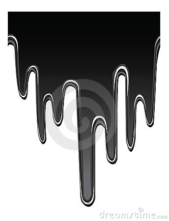 Petróleo do gotejamento
