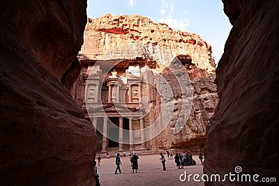 Petra, Jordan Editorial Image