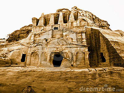 Petra in Jordan - tombs