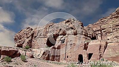 PETRA, Jordanie, Moyen-Orient -- c'est un symbole de la Jordanie, aussi bien que le ` s de la Jordanie plus-a visité l'attraction clips vidéos