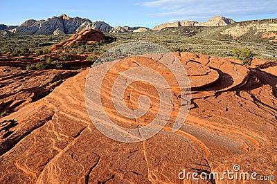 Petrified Sand Dunes - Snow Canyon, Utah