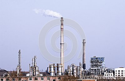 Petrochemical industry.
