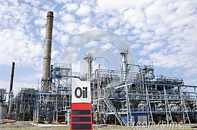 Petrochemical oil industry