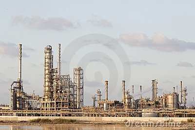 Petrochemicalsväxt
