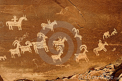 Petroglyphs (rock art)