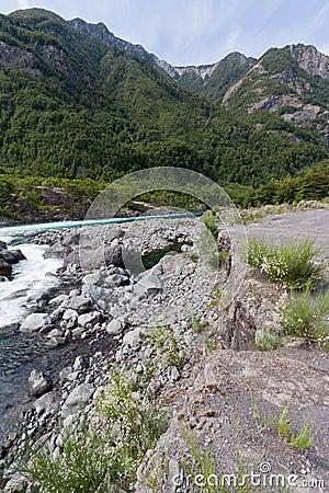 Petrohue Rapids Chile