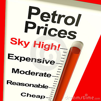 Petrol Prices Sky High Monitor