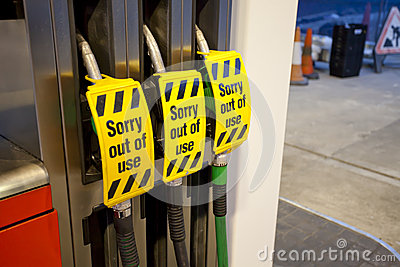 Petrol pump - out of use