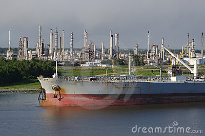 Petroleum Refinery and Tanker