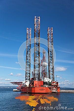 Petroleum spill