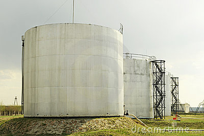 Petroleum storage depot