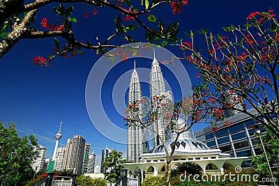 Petronas Towers Editorial Stock Image